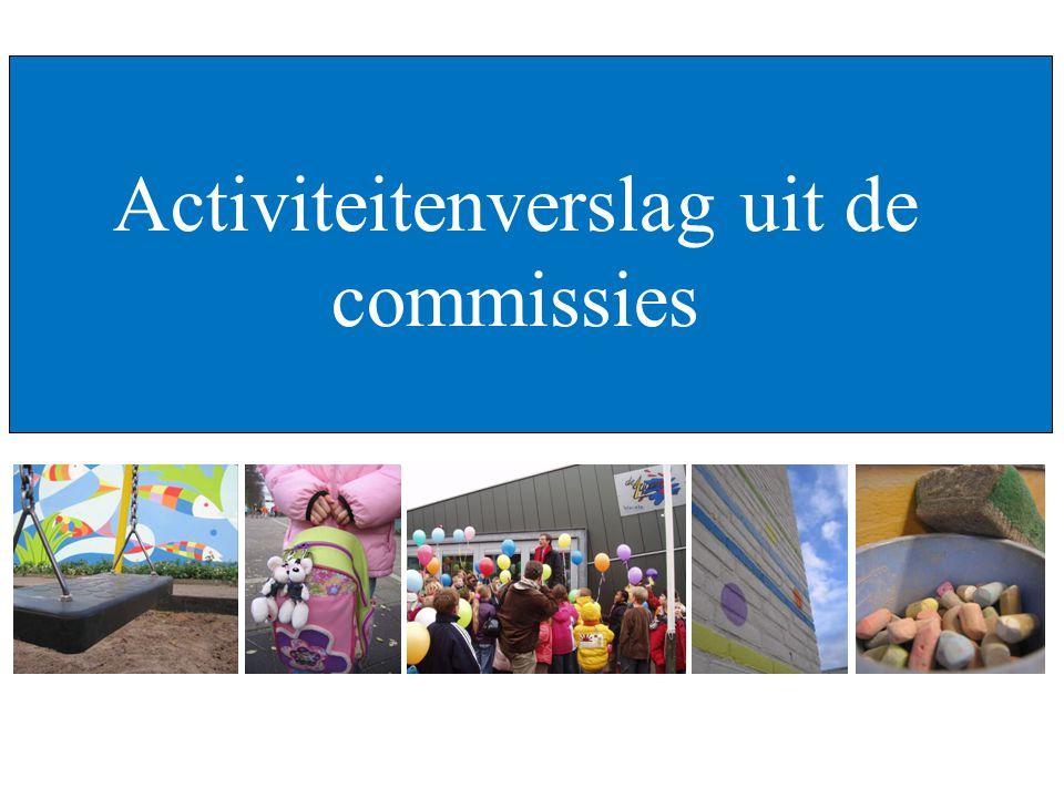 ALV – Oudervereniging De Aquarel Zwolle, 25 april 2006 Activiteitenverslag uit de commissies