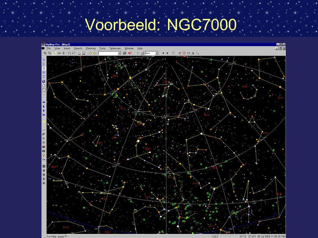 Voorbeeld: NGC7000