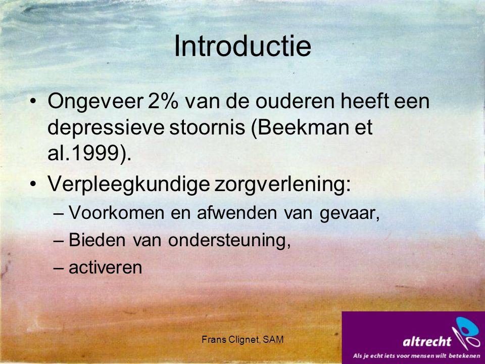 Frans Clignet, SAM Hypothesen Jacobsen (1996): Hypothesen die gebruikt worden zijn: Activeringshypothese: door activering worden patiënten in contact gebracht met bekrachtigingsbronnen.