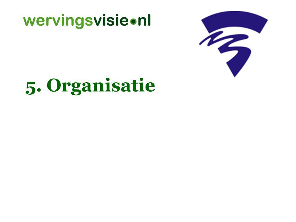 5. Organisatie