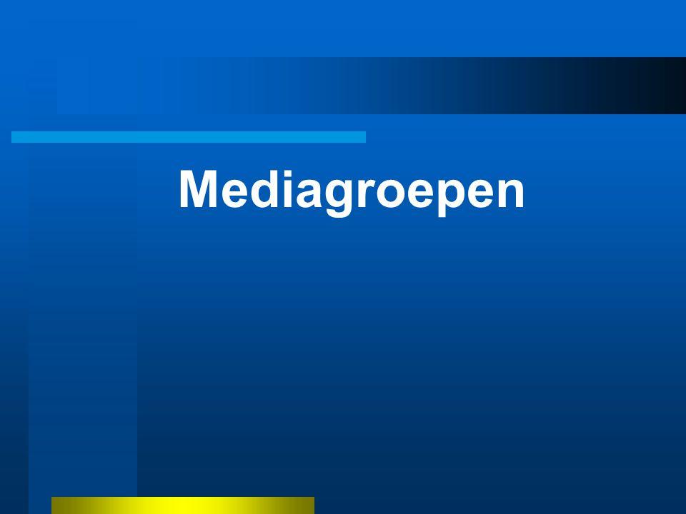 Mediagroepen