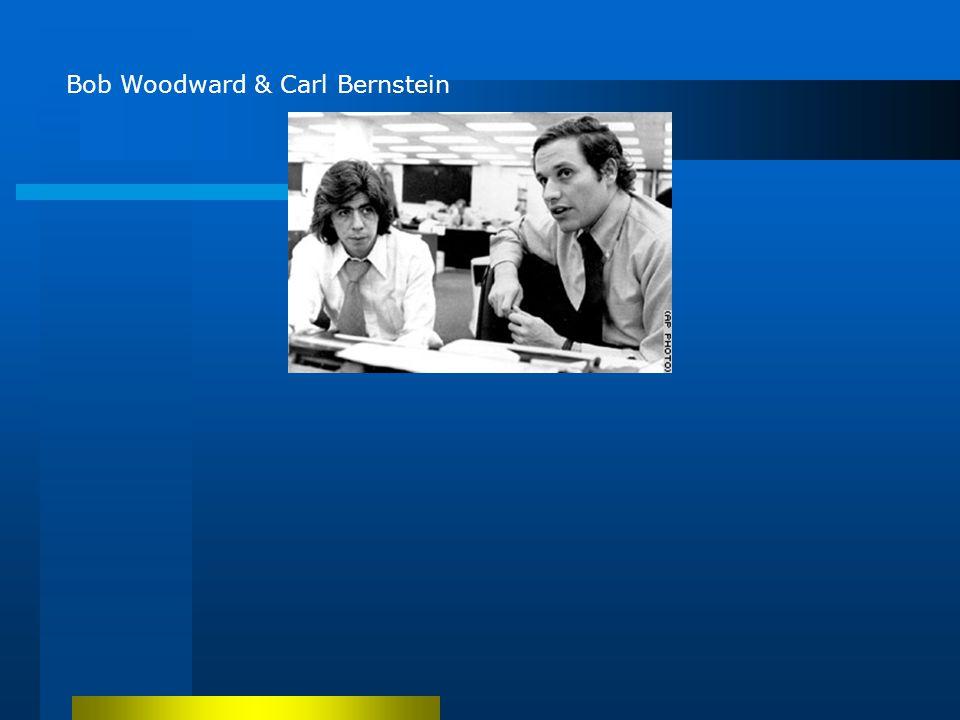 Bob Woodward & Carl Bernstein