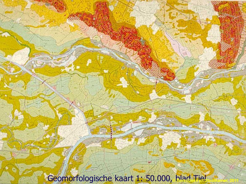 Geomorfologische kaart 1: 50.000, blad Tiel © Berendsen en Stouthamer, 2011