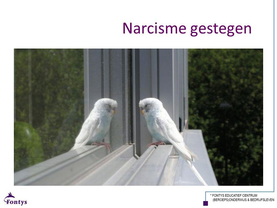 Narcisme gestegen