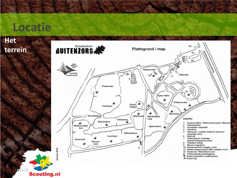 Het terrein 16-11-11 Locatie