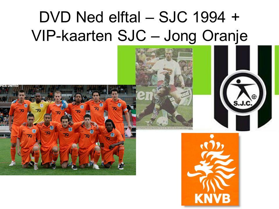 DVD Ned elftal – SJC 1994 + VIP-kaarten SJC – Jong Oranje