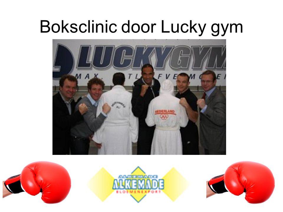 Boksclinic door Lucky gym