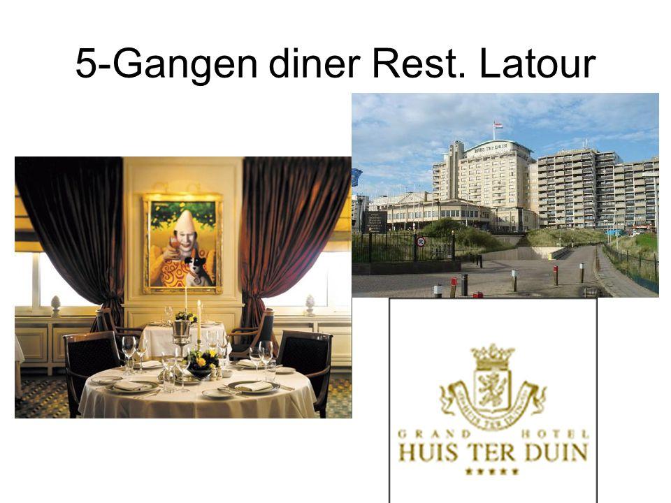 5-Gangen diner Rest. Latour