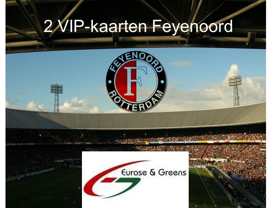 2 VIP-kaarten Feyenoord