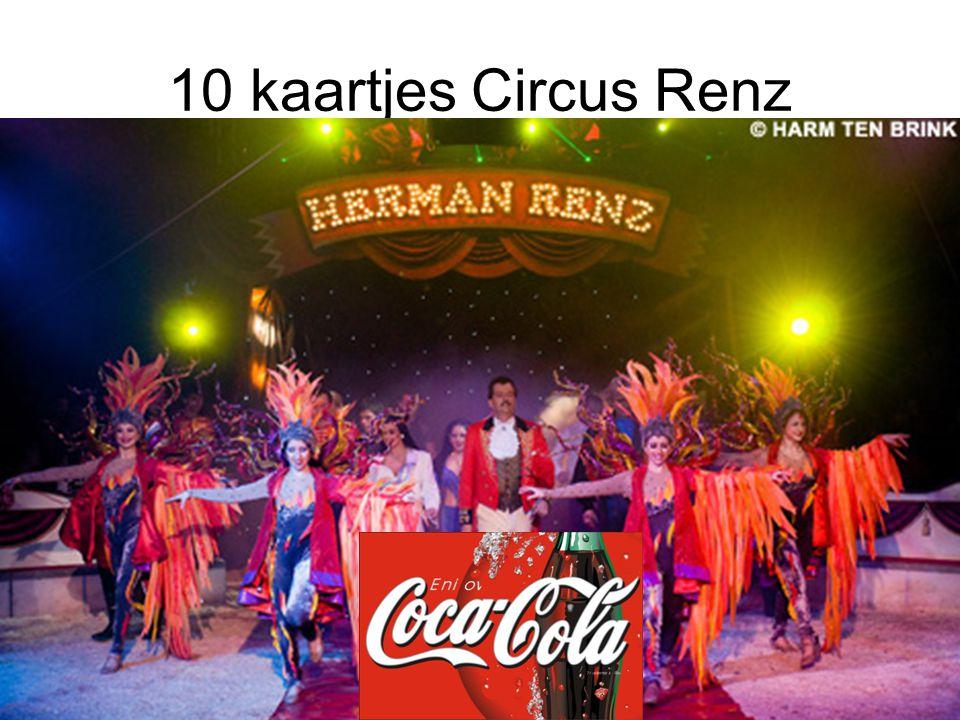 10 kaartjes Circus Renz
