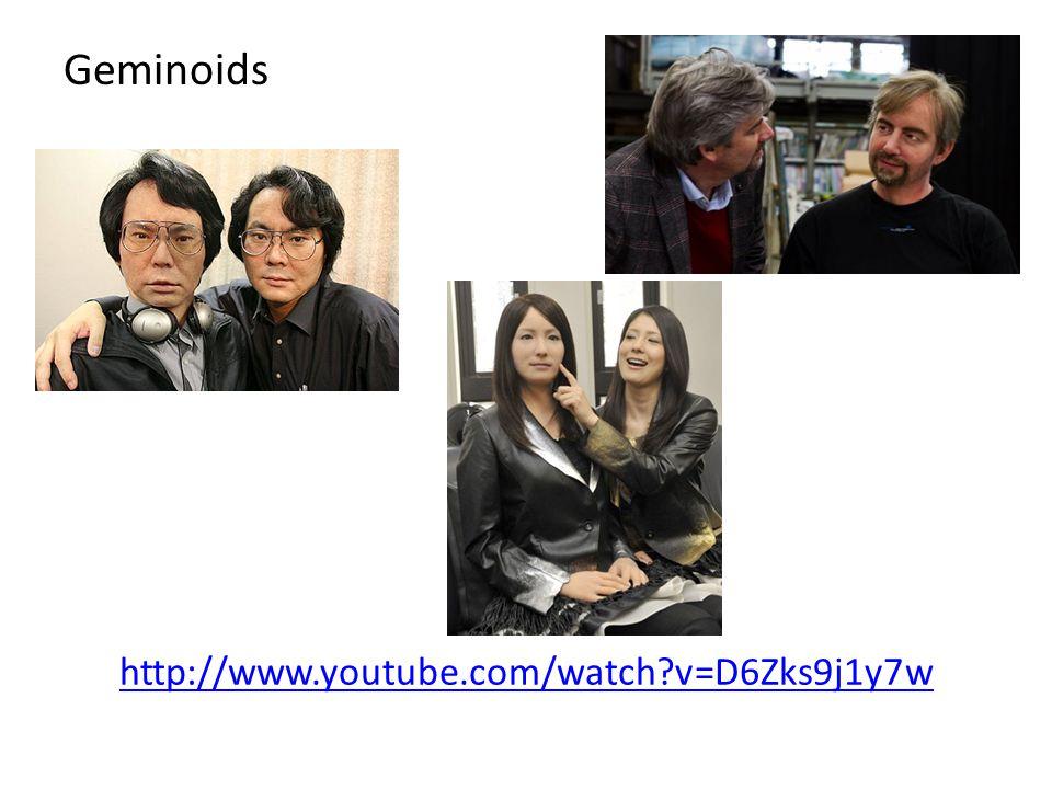 http://www.youtube.com/watch?v=D6Zks9j1y7w Geminoids
