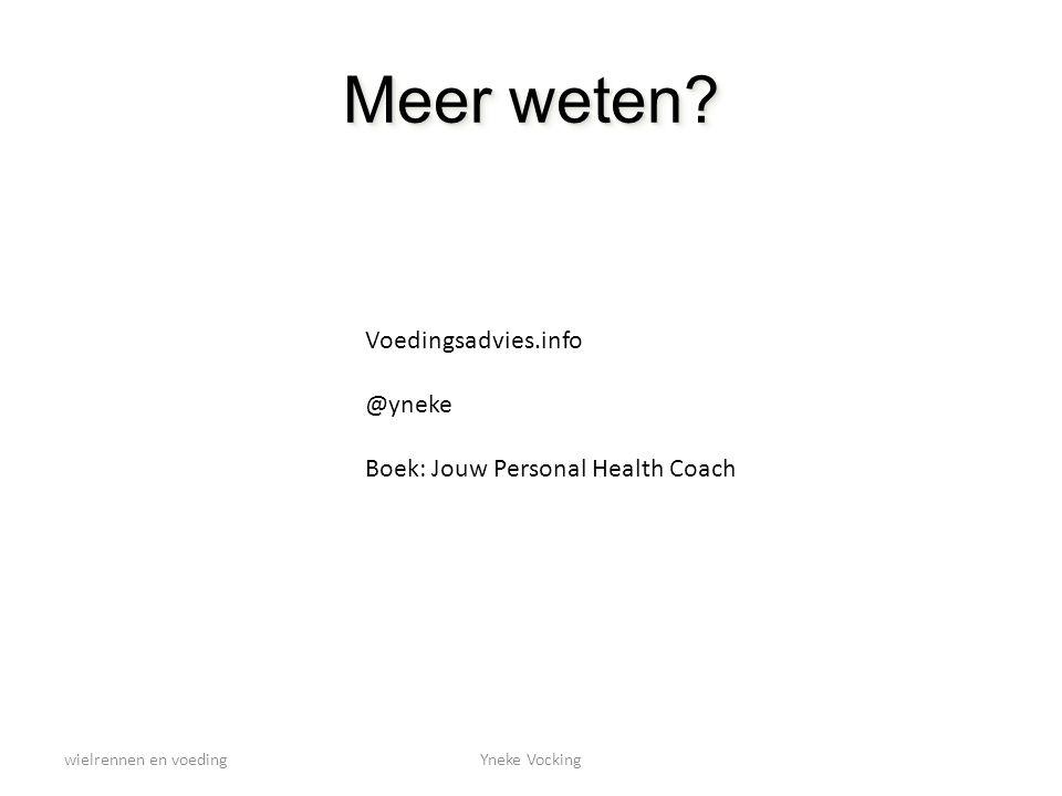 wielrennen en voedingYneke Vocking Meer weten? Voedingsadvies.info @yneke Boek: Jouw Personal Health Coach