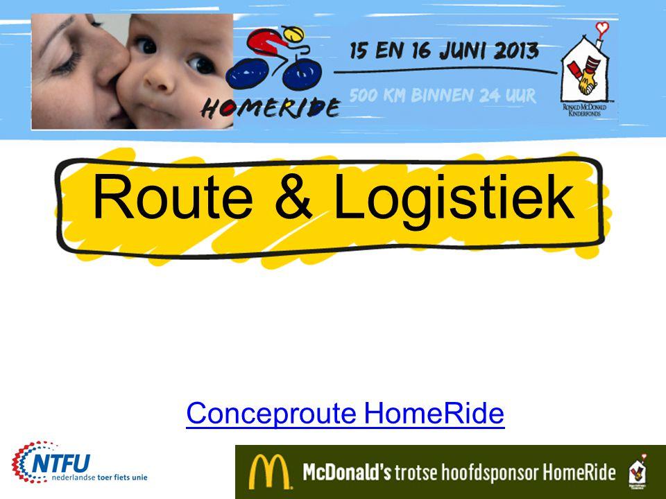 Locaties 1.GroningenStartMcDonald's1. Huis Groningen 2.
