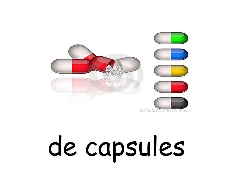 de capsules