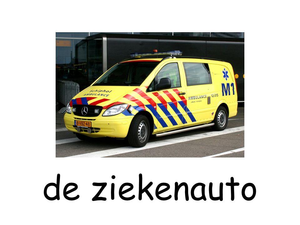 de ziekenauto