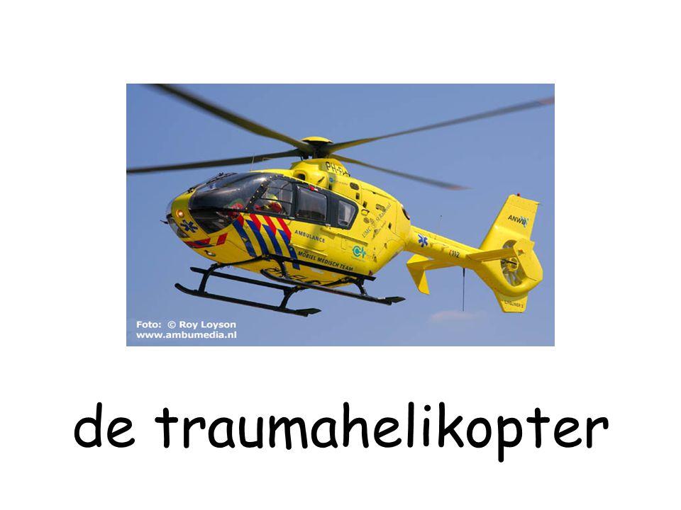 de traumahelikopter