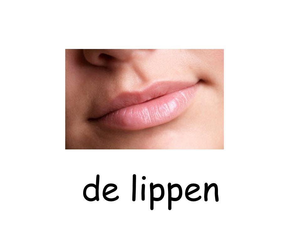de lippen