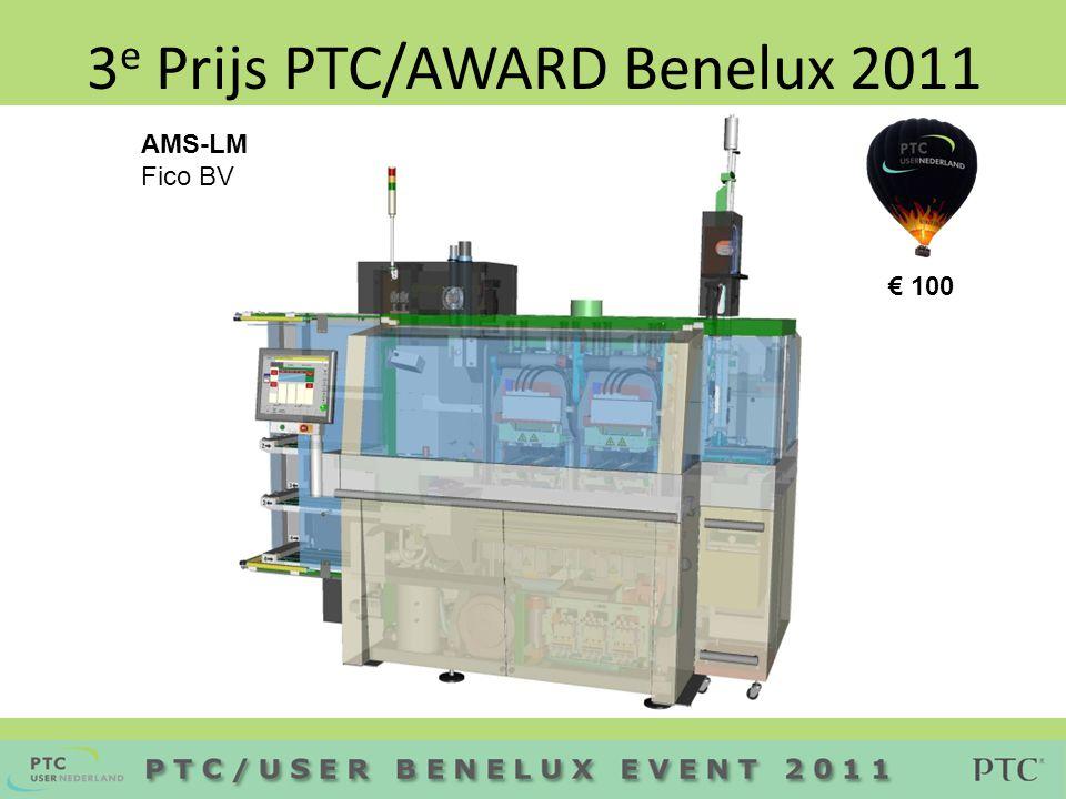 2 e Prijs PTC/AWARD Benelux 2011 Quinny Yezz buggy CE Masters Pezy Product Innovation € 100