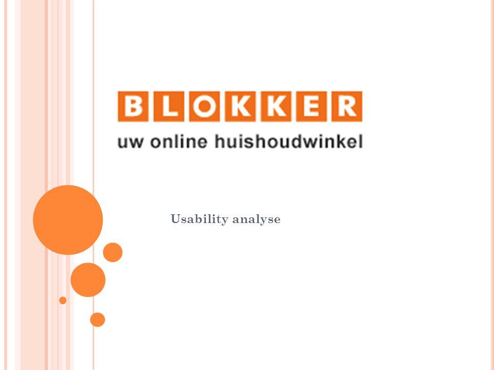 I NHOUD www.blokker.nl/ MBTI homepagina Eisenberghele website Cialdinihomepagina