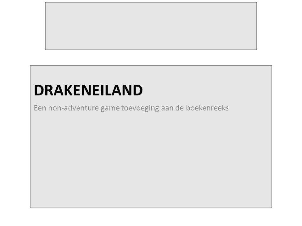 DRAKENEILAND Een non-adventure game toevoeging aan de boekenreeks