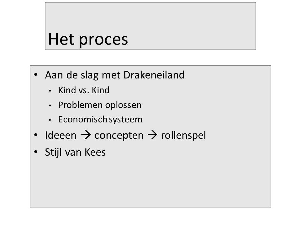 Het proces Aan de slag met Drakeneiland Kind vs.