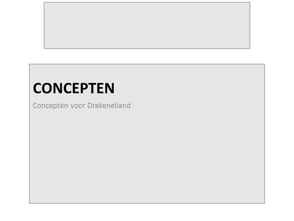 CONCEPTEN Concepten voor Drakeneiland