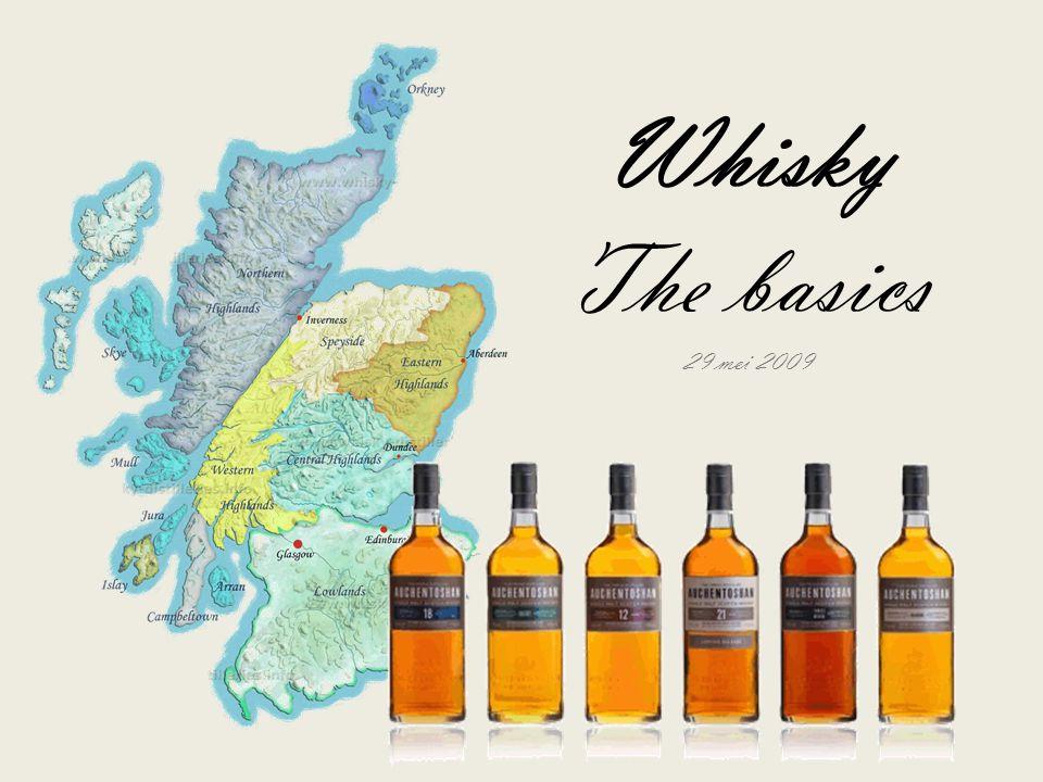 Inhoud van presentatie De geschiedenis van whisky Productie van single malt whisky Whisky gebieden van de wereld Whisky trivia Geschatte duur: 20 minuten >>>>>>>>>>>>>>>>>>>>>