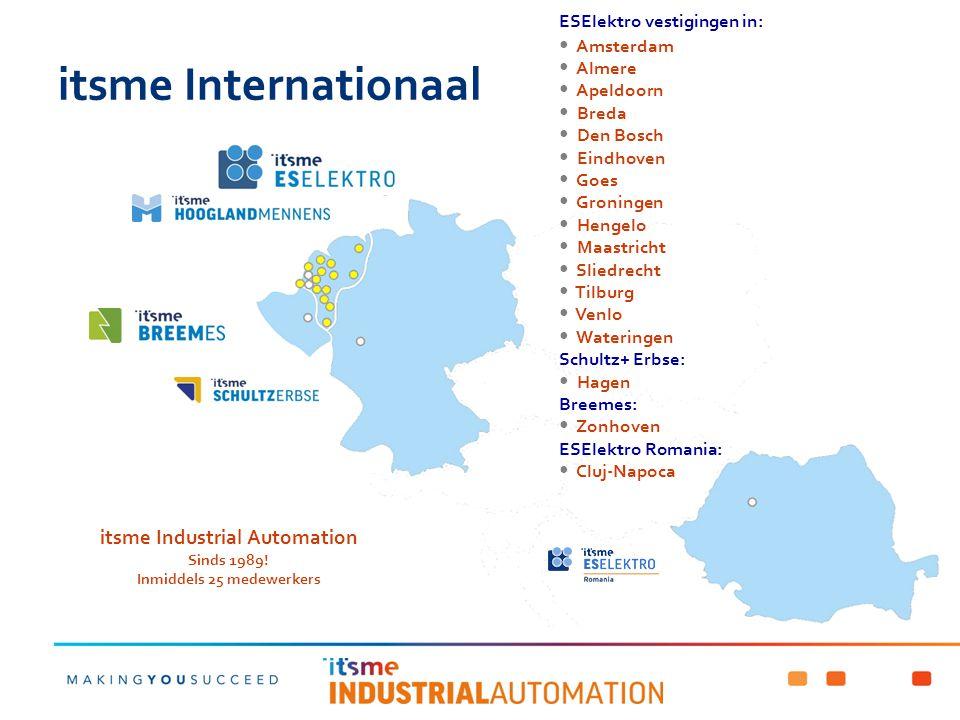 itsme Industrial Automation ondersteunt hardware & software van: SIEMENS