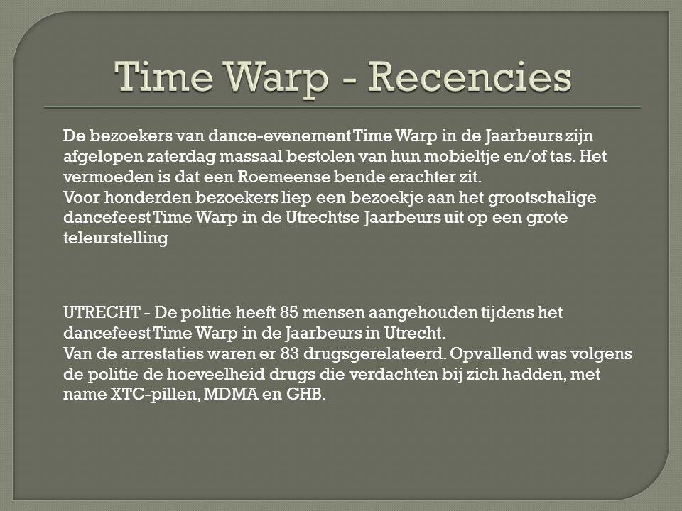 Time Warp Holland 2012 was een heerlijk nacht.