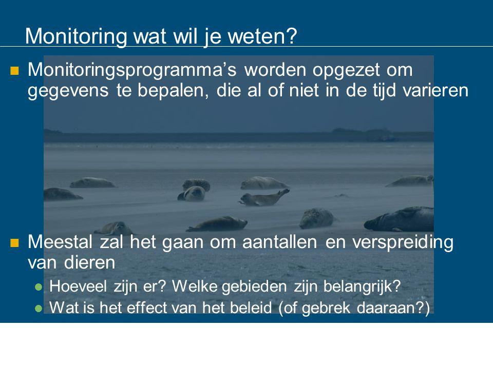 Aantallen geteld in Nederland, het gaat goed ? Goed is relatief