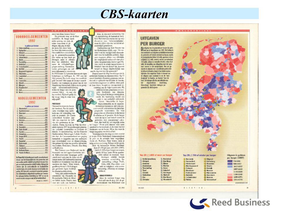 CBS-kaarten