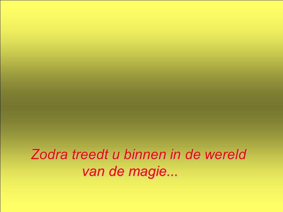 Zodra treedt u binnen in de wereld van de magie... van de magie...