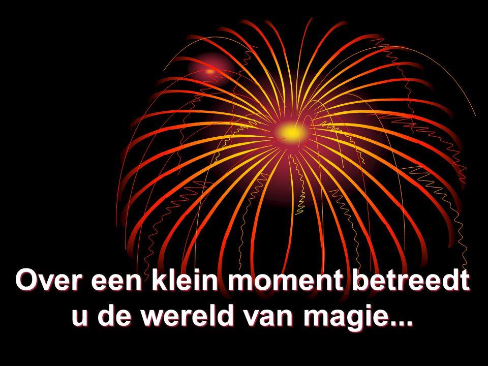 Over een klein moment betreedt u de wereld van magie...