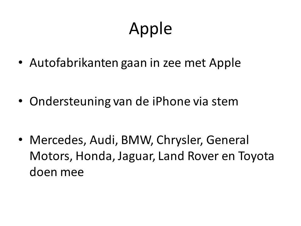 Apple Starten van Siri(spraakherkenning ) via een knop aan het stuur Voor ons een probleem : Siri kent nog geen nederlands !
