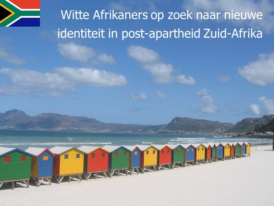 Witte Afrikaners op zoek naar nieuwe identiteit in post-apartheid Zuid-Afrika