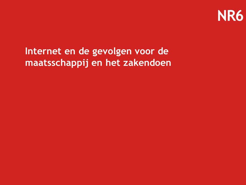 Internet en de gevolgen voor de maatsschappij en het zakendoen