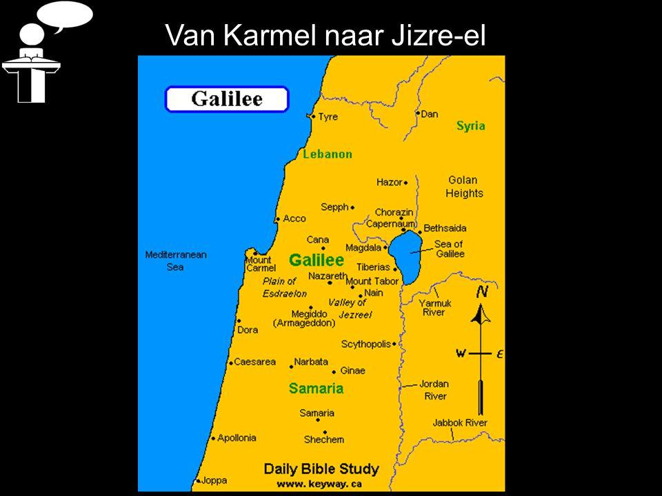 Van Karmel naar Jizre-el
