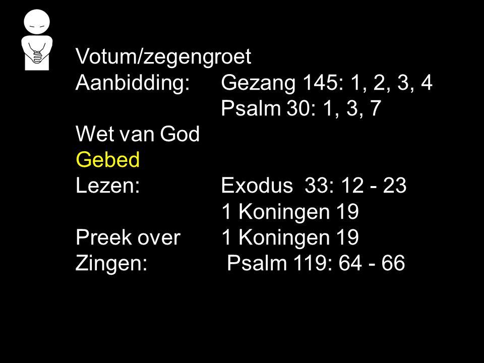 3.Hoe God Elia antwoordt met genade, verzen 12b-13.