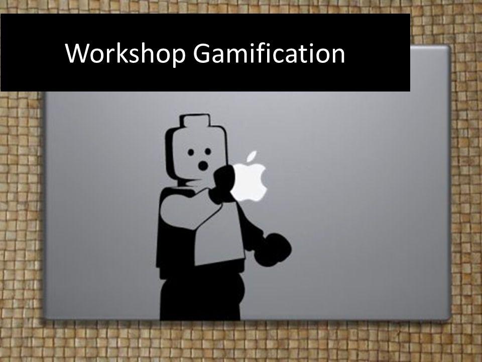 Doel workshop Inzicht gamification Toepassen van gamification voor eigen module
