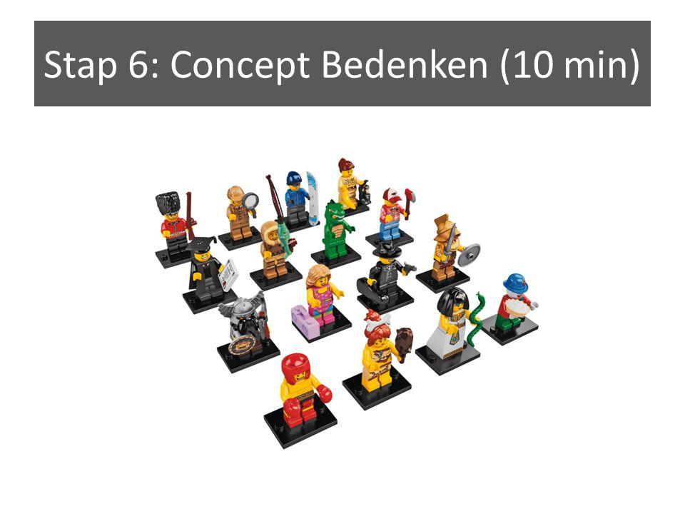 Stap 6: Concept Bedenken (10 min)