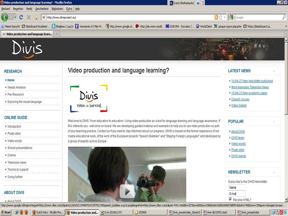 DIVIS Online Guide