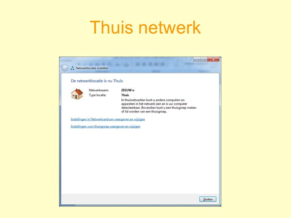 Thuis netwerk