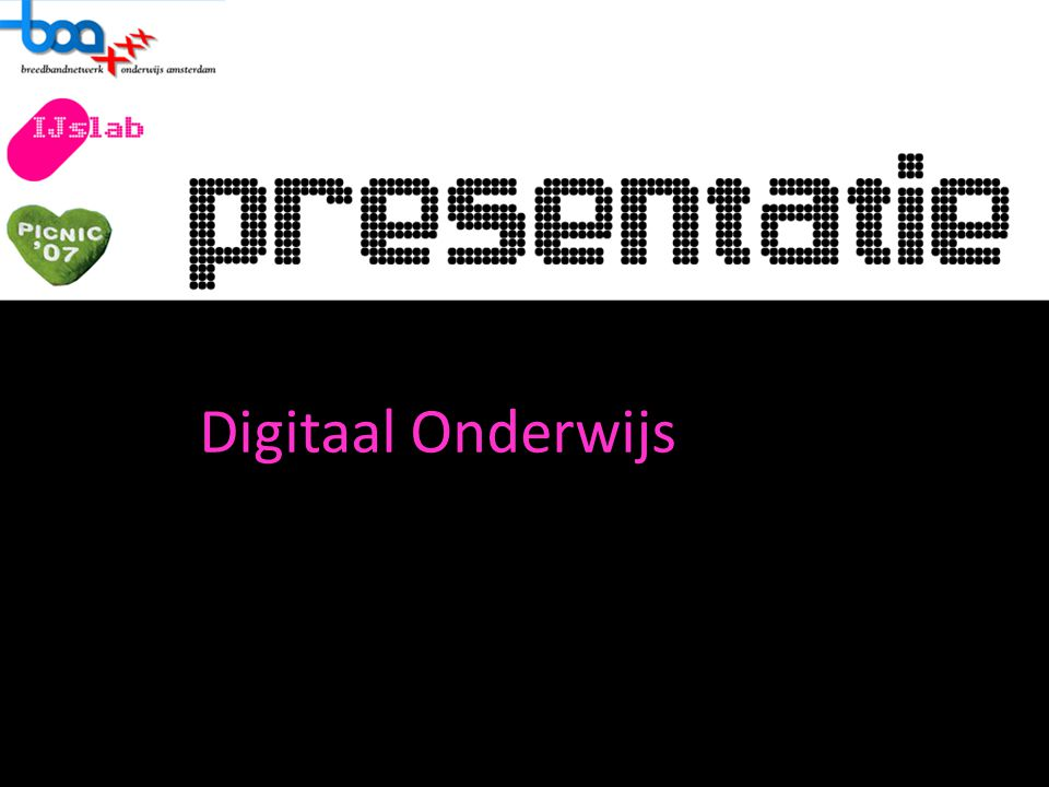In deze presentatie: - Versnellen van het plan - Leraren en Leerlingen - Digitaal les,omdat het beter is dan het huidige systeem.