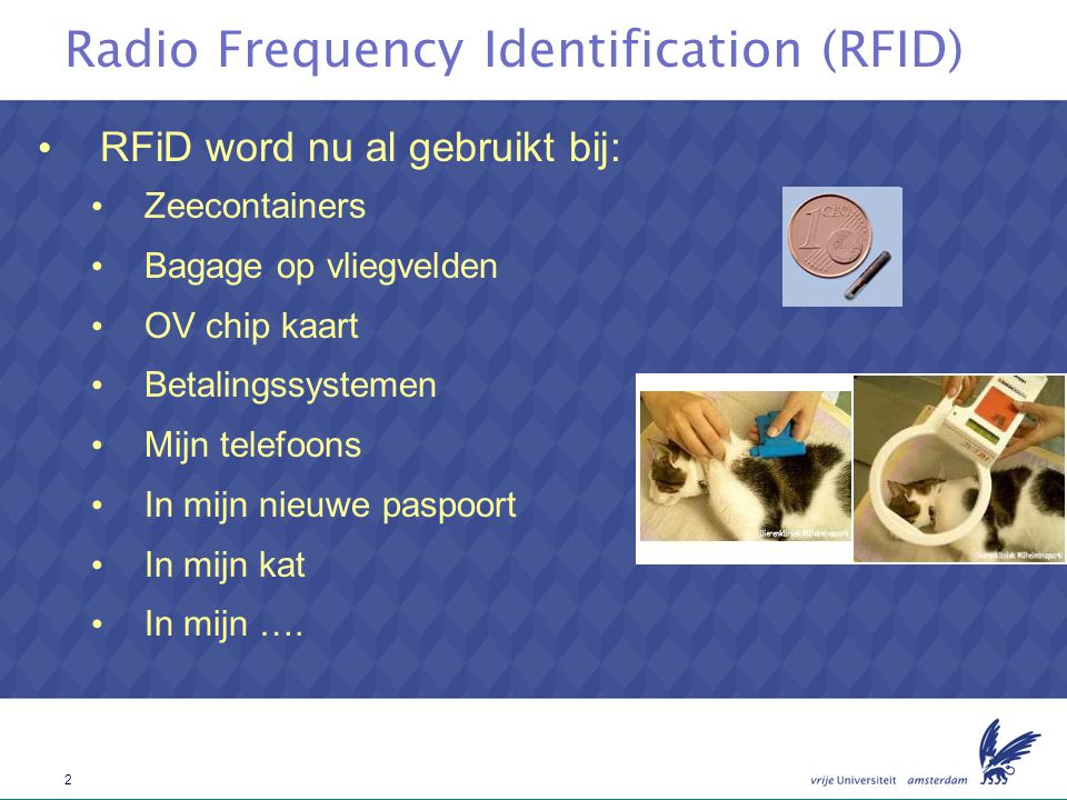 3 Radio Frequency Identification (RFID)