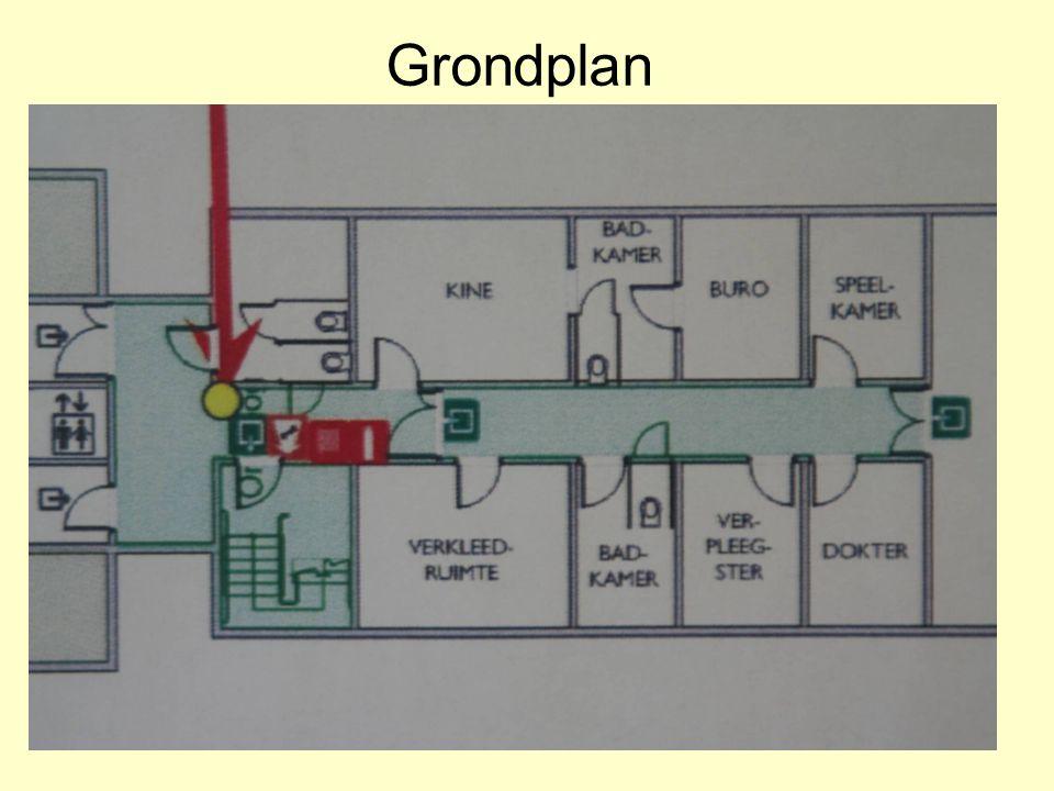 Hilde Desmidt - mei 2008 Grondplan