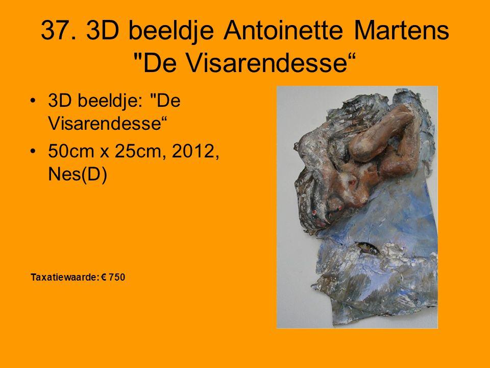 37. 3D beeldje Antoinette Martens