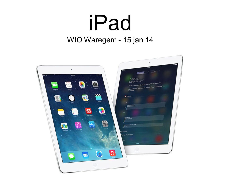 iPad WIO Waregem - 15 jan 14