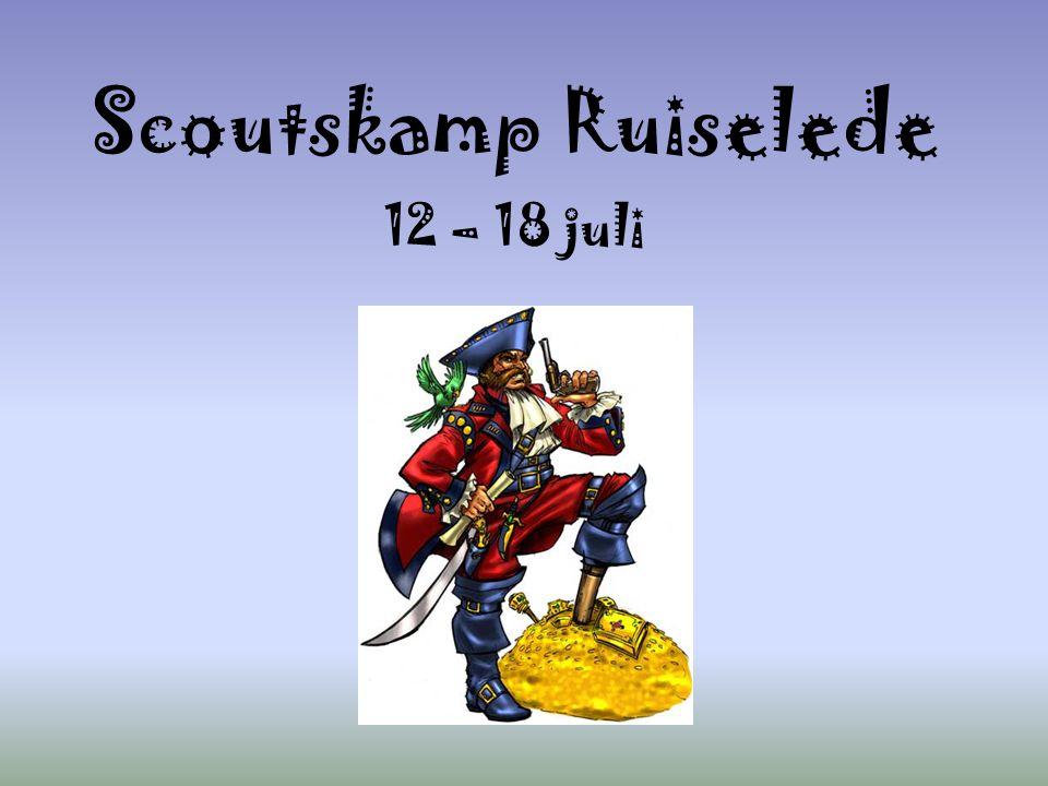 Scoutskamp Ruiselede 12 – 18 juli