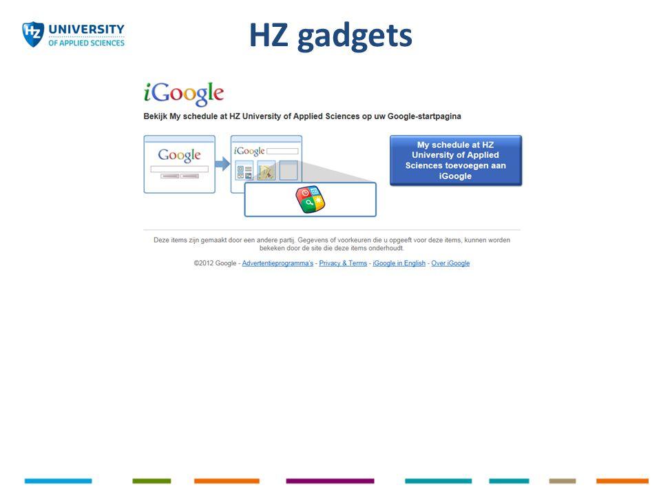 HZ gadgets
