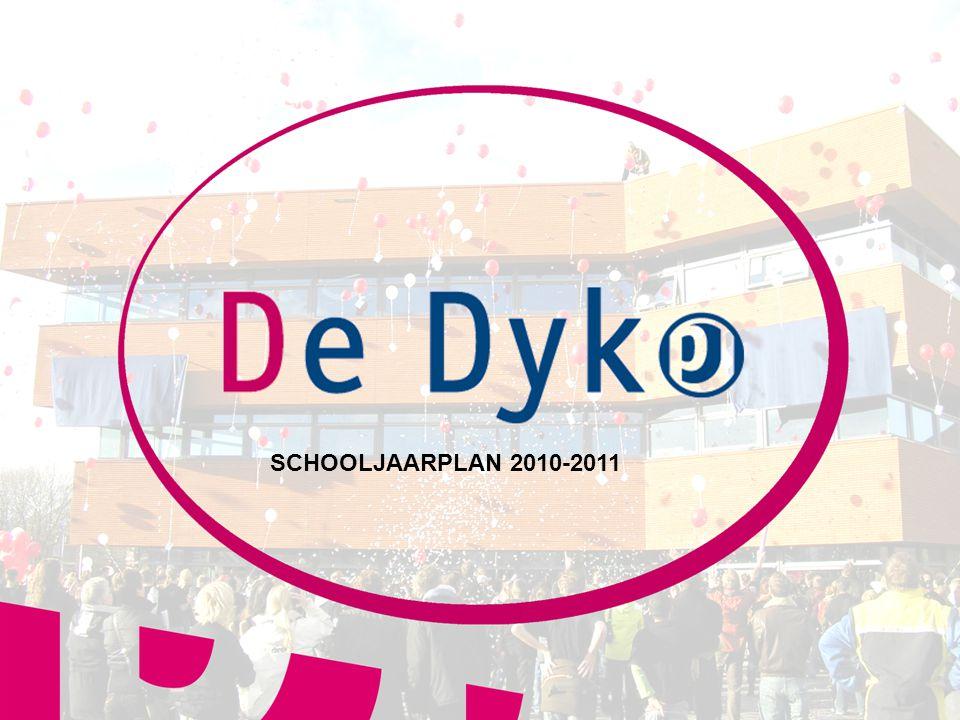 11 SCHOOLJAARPLAN 2010-2011